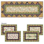 Tuscan Table Runner and Placemats by Heidi Pridemore