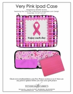 Very Pink iPad Case by Whistler Studios