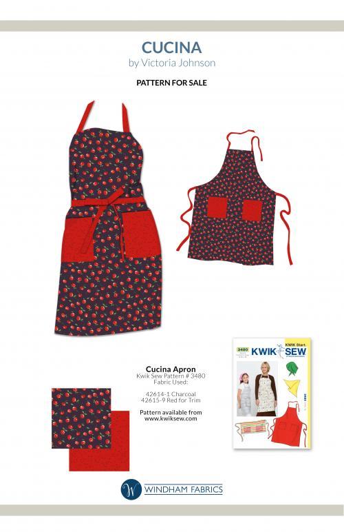 Pattern #3480, by Kwik Sew, Patterns for Sale, Windham Fabrics