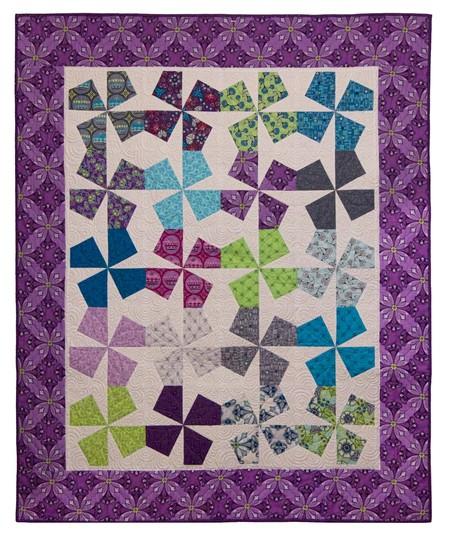 Carnival, by Julie Herman of Jaybird Quilts, Patterns for Sale ... : jaybird quilt - Adamdwight.com