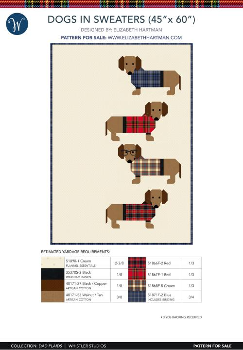 Dogs in Sweaters (45 x 60)