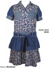 #3840 Shirt Dress by KWIK SEW