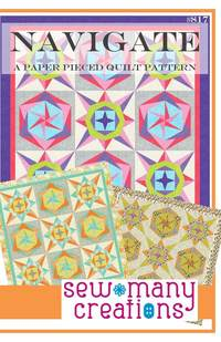 Navigate Quit Pattern by Sew Many Creations
