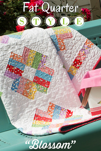 Blossom Quilt by Fat Quarter Shop