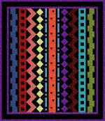 Rows-A-Rama (60 x 70) by Sue Marsh for Whistlepig Creek Productions