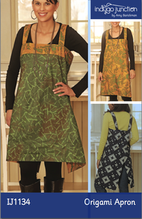 Origami Apron by Amy Barickman for Indygo Junction