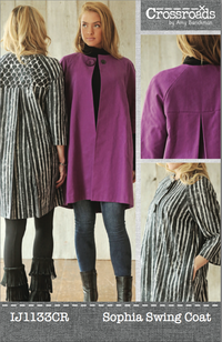 Sophia Swing Coat by Amy Barickman for Indygo Junction