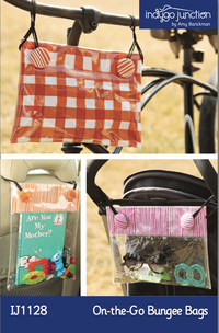On-the-Go Bungee Bags by Amy Barickman for Indygo Junction