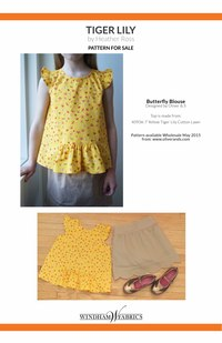 Butterfly Blouse  by Oliver +S