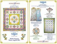 """A Tisket, A Tasket"" Block of the Month by Ann M. Wanke"