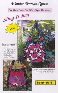 Butterfly Swirl Bag by Wonder Woman Quilts