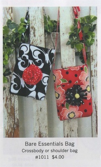 Butterfly Swirl Small Bag by Oceanlake Designs