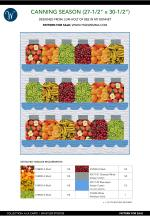 Canning Season (27-1/2 x 30-1/2) by Lori Holt of Bee in my Bonnet