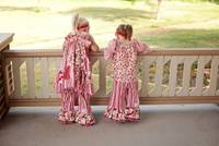 Nicolette's Double Ruffle Pants and Capris by Tiffany Vela and Shannon Donoghue
