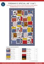 Firemans Special (48 x 66) by Heidi Cook for Villa Rosa Designs