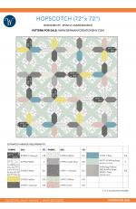 Hopscotch (72 x 72) by Jessica Vandenburgh for Sew Many Creations