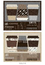 Mug Rugs (9-3/4 x 7-1/2) by Heather Valentine Sewing