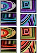 Sew Mojo Mini Quilts (11 x 14 each) by Suzy Quilts