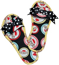Socky Slippers by Eazy Peazy Quilts