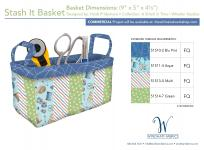 Stash it Basket (9