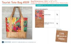 Tourist Tote Bag #509 (18-1/2 x 12 x 7) by Jessica Vandenburgh for Sew Many Creations